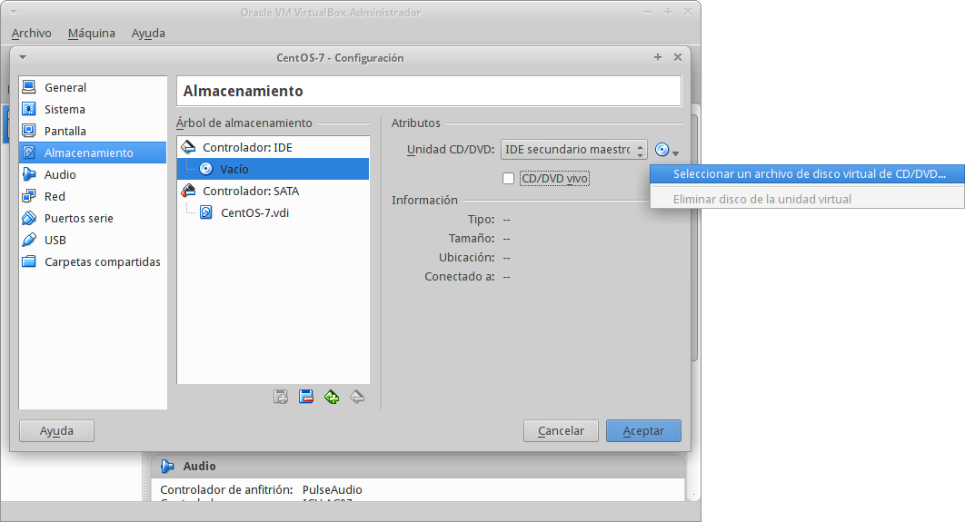 Installing Centos 7 In Virtualbox - View - Wiki - The SaltOS