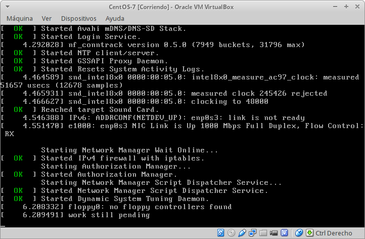 Installing Centos 7 In Virtualbox - View - Wiki - The SaltOS project